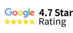 4.7 Google Review Rating